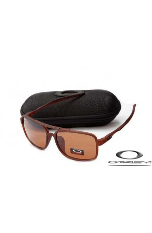 ec6b6953a2736 cheap oakley deviation sunglasses brown frame brown lens wholesale.jpg