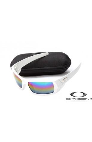 547026485b Discount Oakley Gascan Sunglasses White Frame Colors Lens