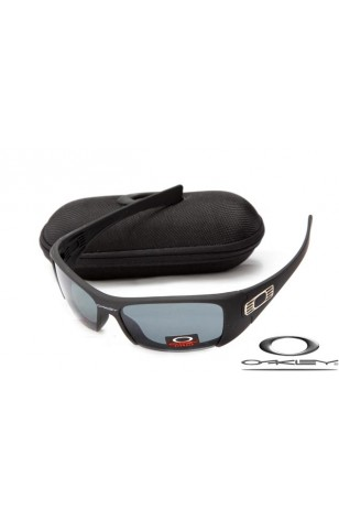 c9b8ef6052 FAKE OAKLEY HIJINX SUNGLASSES BLACK FRAME LIGHT GREY LENS