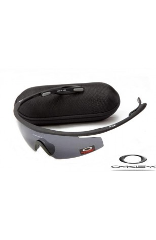CHEAP OAKLEY M FRAME SUNGLASSES BLACK FRAME LIGHT GREY LENS FOR SALE