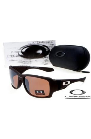 Replica Oakley Big Taco Sunglasses Black Frame Brown Gradient Lens