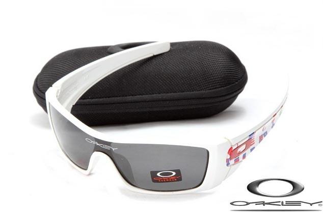 db0c21a70a Cheap Oakley Batwolf Sunglasses White Frame Grey Lens
