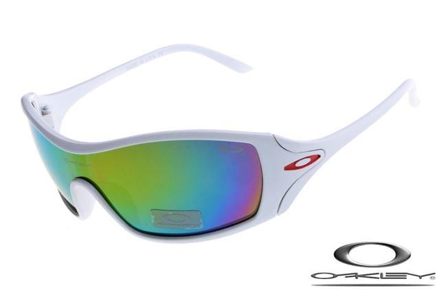 cheap oakley dart sunglasses white frame colors lens wholesale