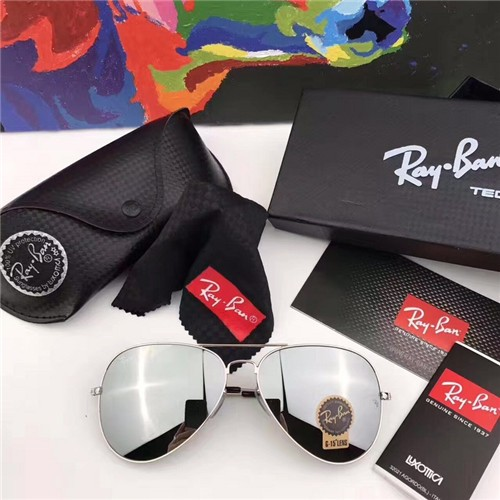 c58605df4d CHEAP RAY BAN RB3026 AVIATOR SUNGLASSES SILVER FRAME GREY GRADIENT LENS  OUTLET