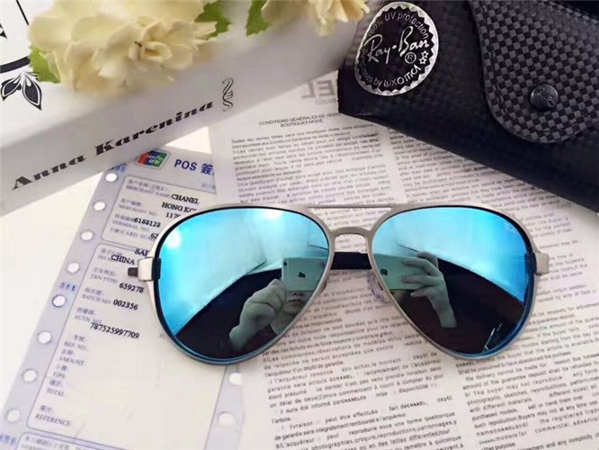 5e9cc5a6fbd CHEAP RAY BAN RB3460 AVIATOR SUNGLASSES GREY FRAME GREEN GRADIENT LENS FOR  SALE