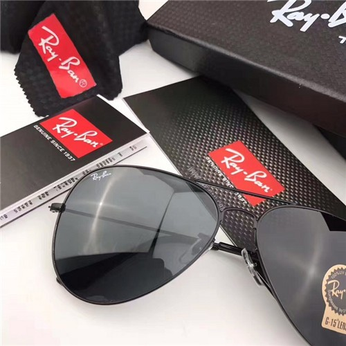 224e7889bba CHEAP RAY BAN SUNGLASSES RB3026 AVAITOR SUNGASSES BLACK FRAME BLACK  GRADIENT LENS OUTLET