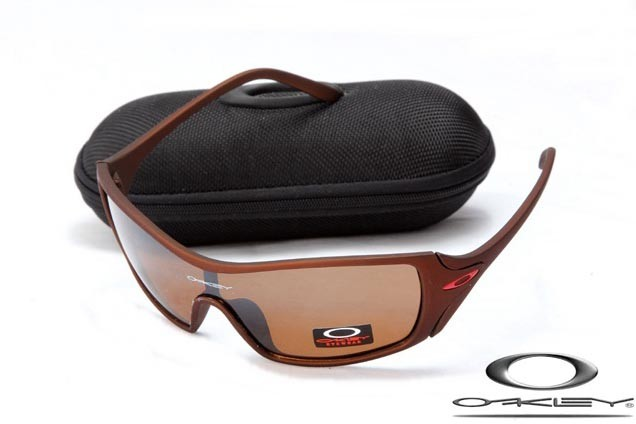 201aa277537 fake oakley dart sunglasses chocolate frame brown lens for sale