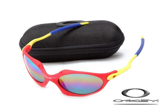 487026cad7cb8 CHEAP OAKLEY JULIET SUNGLASSES YELLOW RED FRAME COLORS LENS