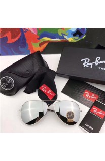 935ebfef73a0b CHEAP RAY BAN RB3026 AVIATOR SUNGLASSES SILVER FRAME GREY GRADIENT LENS  OUTLET