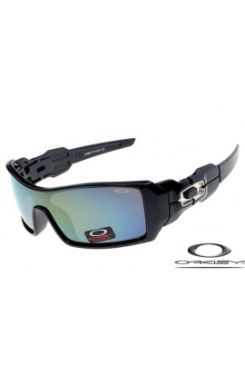 a9a10df2fe CHEAP FAKE OAKLEY OIL RIG SUNGLASSES BLACK FRAME BLUE LENS
