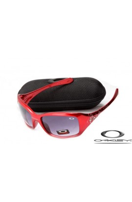 63d22d6412 Cheap Oakley Necessity Women Sunglasses Red Frame Purple Lens