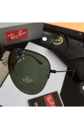 92906884564 ... wholesale cheap ray ban rb3460 aviator sunglasses black frame green  lens outlet f3a07 93eb1